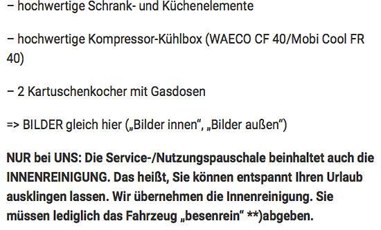Campingbus Verleih für  Brandenburg