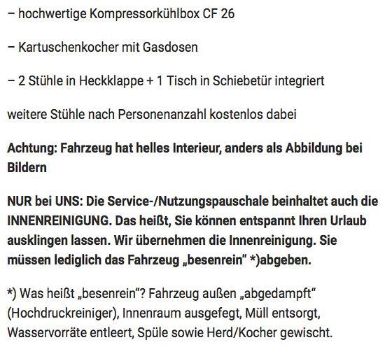 Fahrzeuge zum reisen in  Schleswig-Holstein