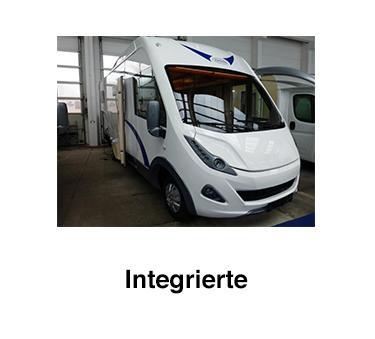 Integrierte Wohnmobile