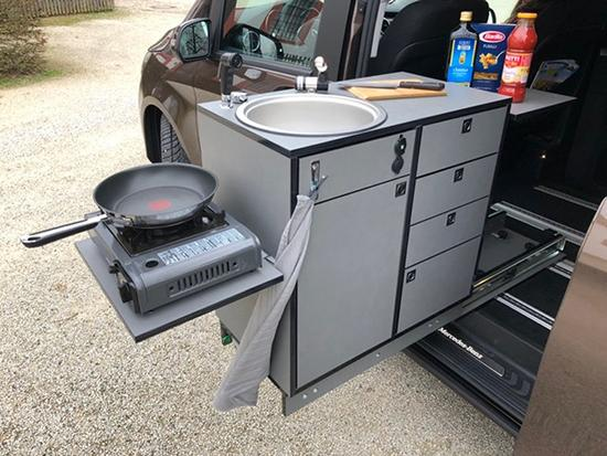 Reisemobil mit Kochfunktion