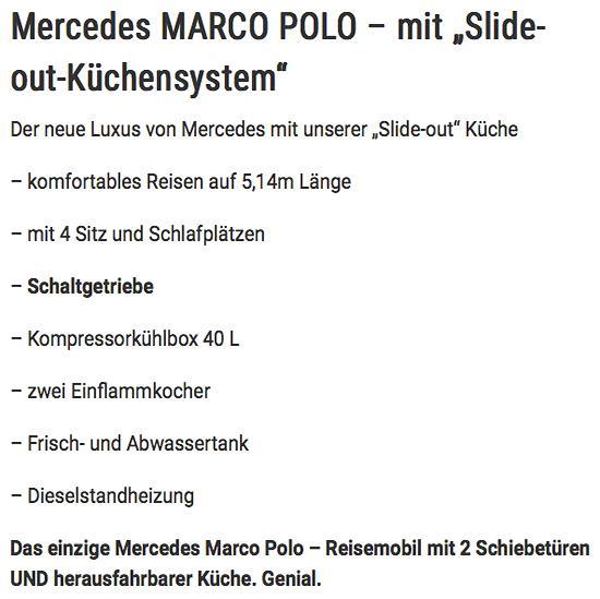 Reisemobil mit Schiebetüren für  Thüringen