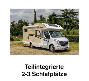 Teilintegrierte Wohnmobile aus  Österreich